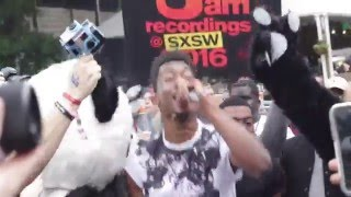 Desiigner & The Panda Gang Takeover SXSW '16