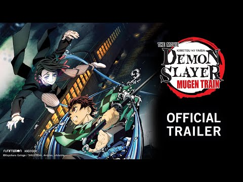 Demon Slayer -Kimetsu no Yaiba- The Movie: Mugen Train English Dub Trailer