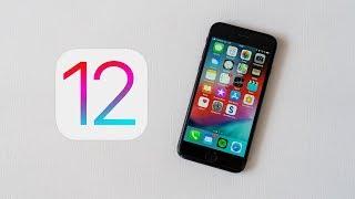 iOS 12 - první pohled
