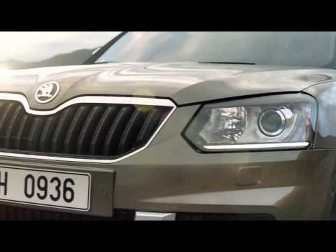 Skoda  Yeti Паркетник класса J - рекламное видео 1