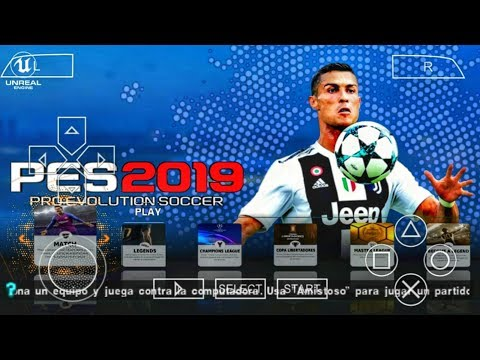 PES 2019 PPSSPP Android Offline 200MB Best Graphics New Kits
