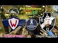 PES 2018-J.Wilstermann 0x1 VASCO; Pré Libertadores
