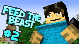 Feed The Beast - 'Unleashed' Part 2: The Diamond Haul