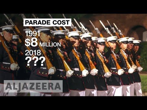 ?? Trump's military parade idea 'fantastic waste of money'