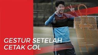 Gestur Menyentuh Hati Son Heung-min saat Cetak Brace untuk Tottenham