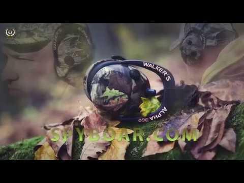 Слушалки за лов, антифони Walkers Ultimate Power Muff Quads с 9 пъти увеличаване на слуха
