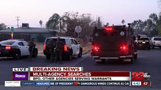 BPD, other agencies serving search and arrest warrants
