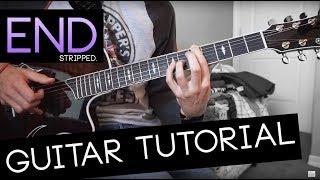 End (stripped.) Guitar Tutorial   Jeremy Zucker