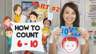 Grade 2 English | How to Count Numbers 6-10 | Teacher Celine