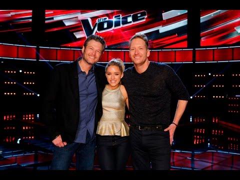 Barrett Baber & Emily Ann Roberts Talk Coach Blake Shelton - The Voice Season 9 | Top 9 Live Show