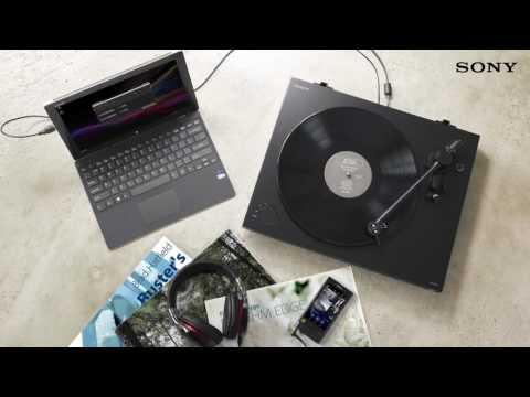 Виниловый проигрыватель Sony PS-HX500 видео 1