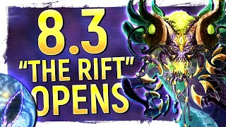 The RIFT OPENS: Black Empire Deep Below Azeroth & Return Of Y'shaarj | Is This 8.3?