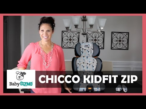 Chicco KidFit Zip Booster Car Seat Review