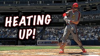 BRYCE HARPER IS HEATING UP!! MLB THE SHOW 18 DIAMOND DYNASTY - Video Youtube