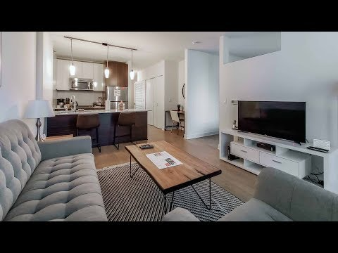 A furnished short-term convertible at the Loop's luxurious MILA apartments