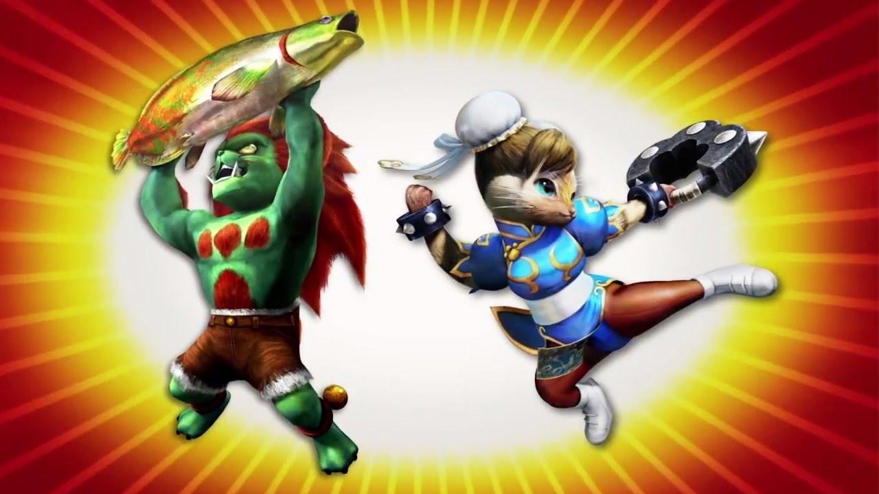 MONSTER HUNTER 4 Ultimate – Street Fighter Costumes #VideoJuegos #Consolas