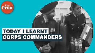 Corps commanders of the Indian Army - Download this Video in MP3, M4A, WEBM, MP4, 3GP