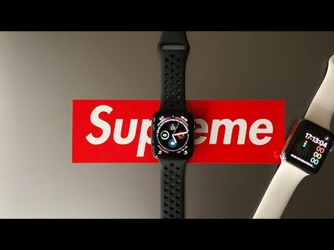 Apple Watch Series 4 Nike Plus Space Grey GPS Unboxing 4K