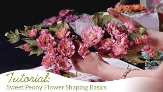 Sweet Peony Flower Shaping Basics