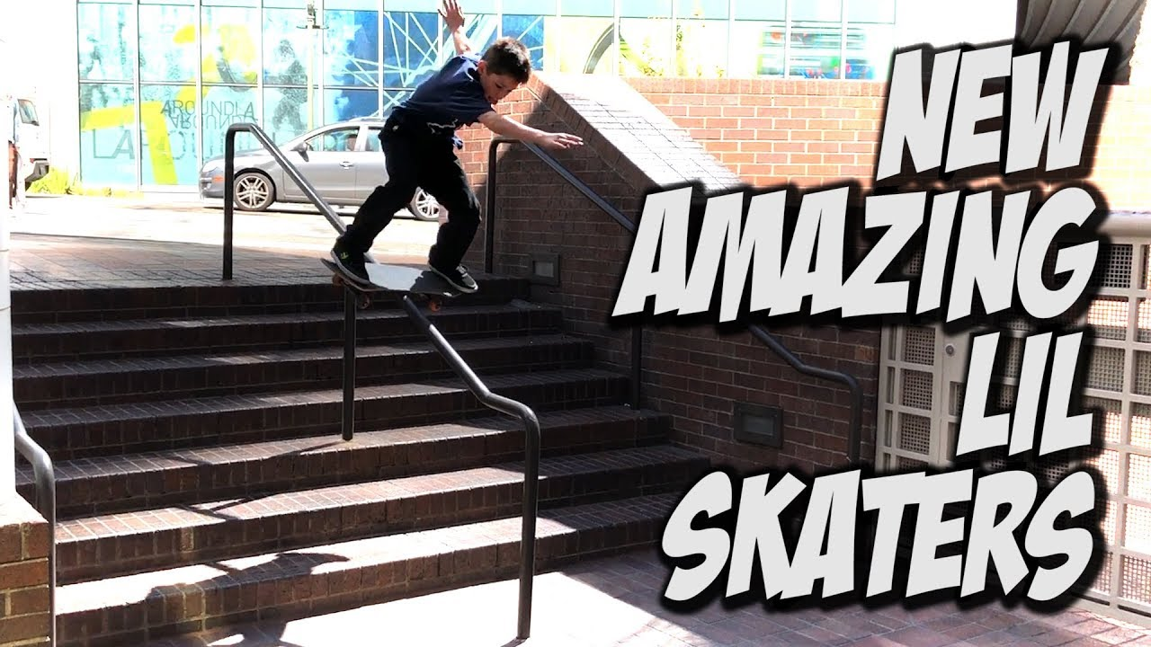 NEW AMAZING LIL KIDS SKATE DTLA AND MORE !!! - NKA VIDS - - Nka Vids Skateboarding