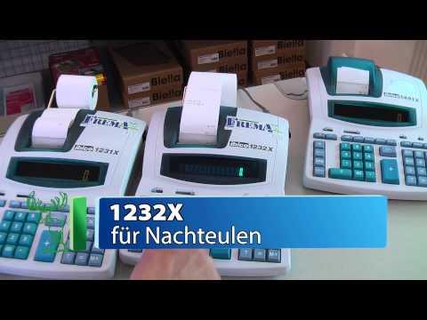 IBICO Druckende Tischrechner