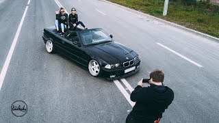 BMW E36 Convertible - Saint-Petersburg Shortcut. 4K.