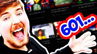 700 MrBeast Videos!! WHAT I LEARNED FROM THE DATA