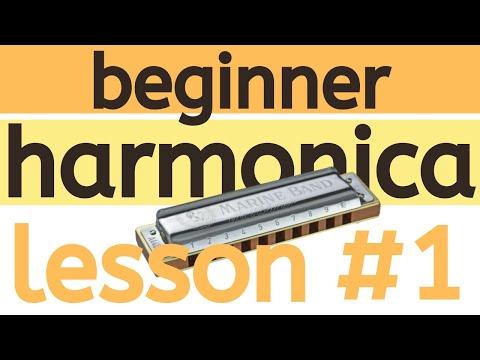 Beginner Harmonica Lesson 1 - Breathing and Tone