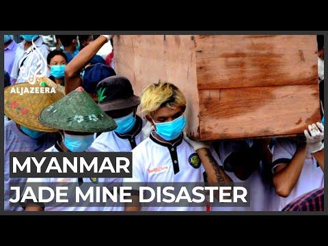 Myanmar jade mine disaster: More bodies found at landslide site