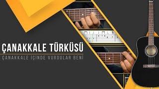 Çanakkale Türküsü [Gitar SoloRitm]+[TAB]+[AKOR]+[Karaoke]
