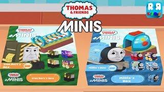 New Set Iron Bert Box and Millie Box - Thomas & Friends Minis