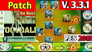 UPDATE MESSI PATCH 3 3 1 PES 2019 MOBILE MOD BY PES HEROES