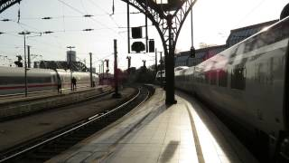preview picture of video 'Thalys & ICE departing Cologne HBF'