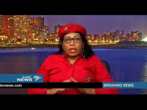 EFF's Hlengiwe Mkhaliphi on testifying before the Moerane Commission