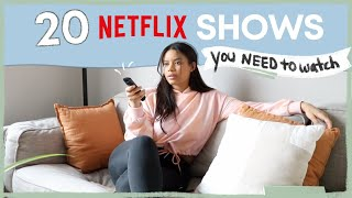 20 Netflix Shows You NEED to Watch | netflix recommendations 2020