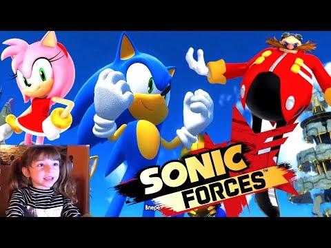 ИГРА Sonic Forces. Все СЦЕНЫ игры. Полное ПРОХОЖДЕНИЕ на русском