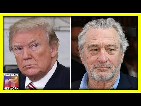 Robert De Niro Goes on MSNBC Seconds Later UNLEASHES HELL On President Trump