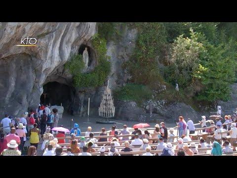 Chapelet du 8 août 2020 à Lourdes