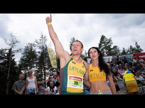 العرب اليوم - شاهد: ليتوانيا تفوز ببطولة العالم لحمل الزوجات