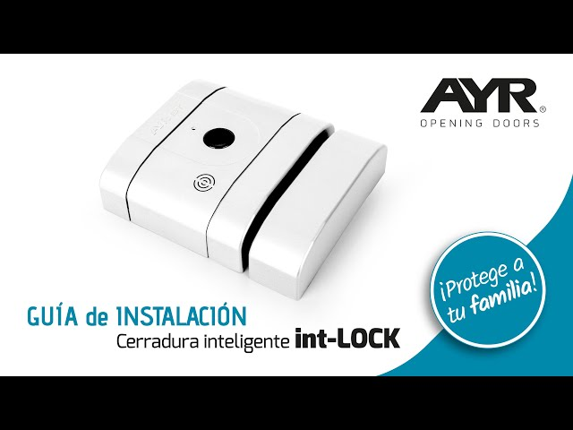 Video CERRADURA INVISIBLE  ELECTRONICA NIQUEL  MATE BLUETOOTH 50000 INT-LOCK AYR.