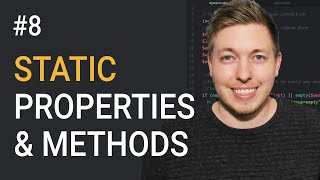 8: Static Properties And Methods In OOP PHP | Object Oriented PHP Tutorial | PHP Tutorial | mmtuts