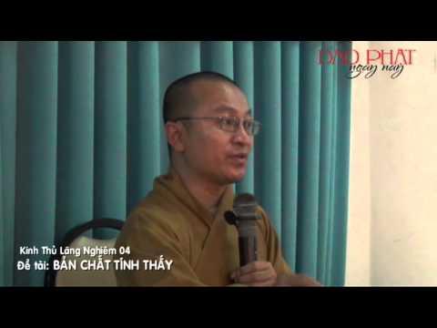 Kinh Thủ Lăng Nghiêm 4 (2013): Bản chất tánh thấy