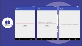 Transfer Data Intent Android Tutorials