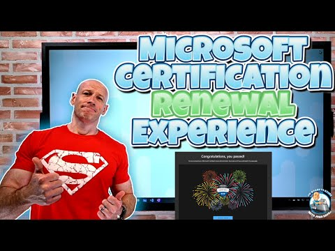 The New Microsoft Certification Renewal Experience! - YouTube