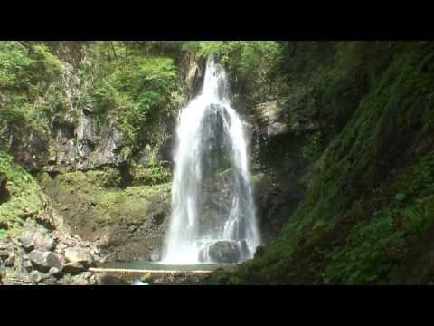 【HD】福島県 銚子ヶ滝と乙字ヶ滝 – がんばれ東北!