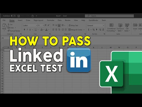How To Pass LinkedIn Excel Assessment Test - YouTube