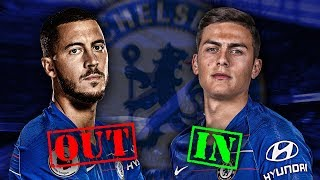 Should Paulo Dybala Replace Eden Hazard at Chelsea?! | #ContinentalClub
