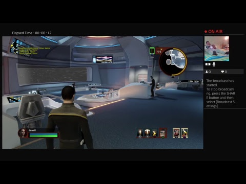 Shim Plays Star Trek Online Diplomatic Orders on PS4