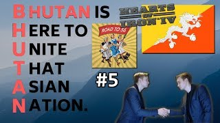 HoI4 - Road to 56 mod - Bhutan Is Here To Unite That Asian