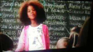 Annie (2014)Class scene😀😊